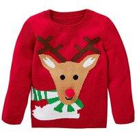 KD Unisex Reindeer Christmas Jumper