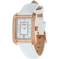 Rotary Ladies White Strap Watch