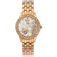 Butterfly Gold-tone Bracelet Watch