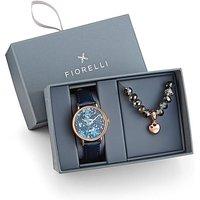 Fiorelli Watch & Bracelet Gift Set