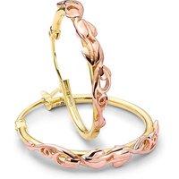 Clogau Tree of Life Gold Hoop Earrings