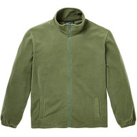 Capsule Khaki Full Zip Polar Fleece