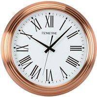 Copper Colour Wall Clock
