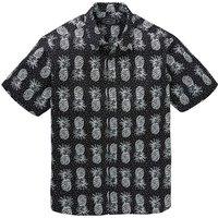 Label J Pineapple Print Shirt Long