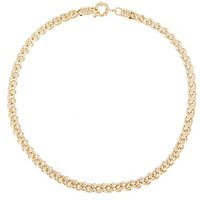 Gold Plated Heavy Rope Necklace