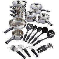 Morphy Richards 8pc Pan Set & Free Tools