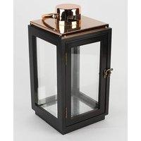 Lantern Black and Copper