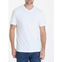Capsule White V-Neck T-shirt Regular