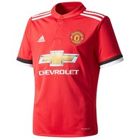 adidas MUFC Boys Youth Home Jersey