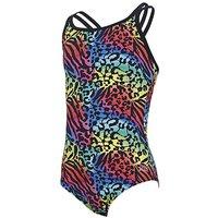 Zoggs Wild Cat Duo Back Swimsuit