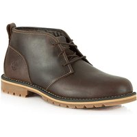 Timberland Brown Leather Ankle Boot