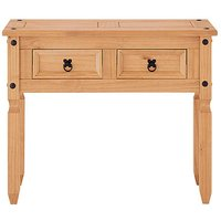 Fashion World Corona Solid Pine Console Table OP86501