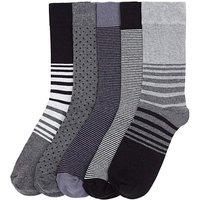 Southbay Pack of 5 Socks