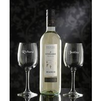 Personalised Wine Lovers Set