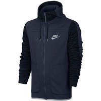 Nike Advance Full Zip Contrast Hoody Reg