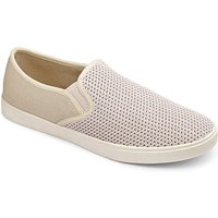 Image of Southbay Slip On Espadrille Wide Fit