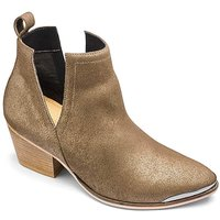 Sole Diva Leather Cut Out Boots EEE Fit