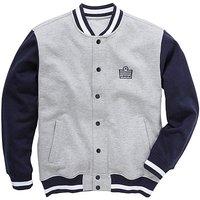 Admiral Style Baseball Jacket Long