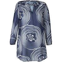Embellished Neck Print Tunic