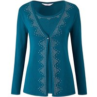 Embellished 2 In 1 Cardigan