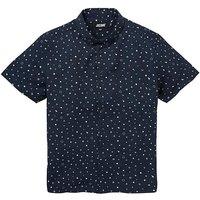 Jacamo Geo S/S Printed Shirt Regular