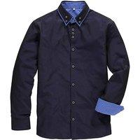 Black Label Cross Dye Pinto Shirt Reg