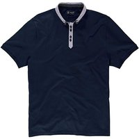 Black Label By Jacamo Worsley Polo Reg