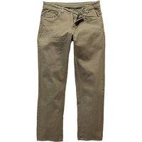 Image of UNION BLUES Khaki Gaberdine Jeans 27 In