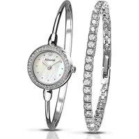 Accurist Ladies Watch and Bracelet Set