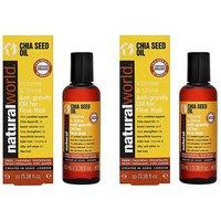 Chia Seed Volume Hair Treatment Oil Duo