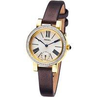 Seiko Ladies Brown Strap Watch