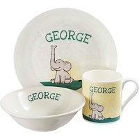 Personalised Elephant Breakfast Set
