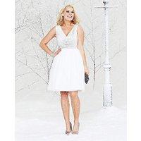Short Embellished Prom Dress