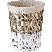 Dipped Laundry Basket with Lining