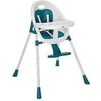 Mamas & Papas Teal Bop 2-in-1 Highchair.