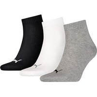 3 Pair Puma Quarter Socks