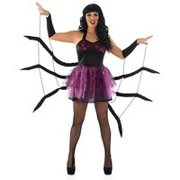 Halloween Ladies Black Widow Spider