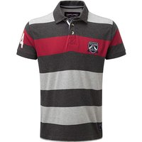Tog24 Harper Stripe Mens Polo Shirt