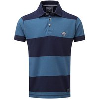 Tog24 Collins Stripe Mens Polo Shirt