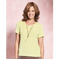 Slinky T Shirt with Necklace at JD Williams Catalogue