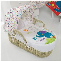 Obaby Happy Safari Moses Basket