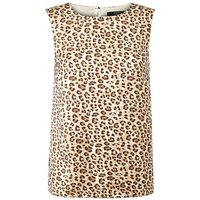 Joanna Hope Animal Print Shell Top