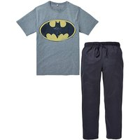 Batman Logo Long PJ Set