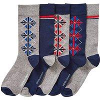 Ben Sherman Pack of 5 Boxed Socks