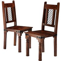 Jaipur Sheesham Pair of Dining Chairs