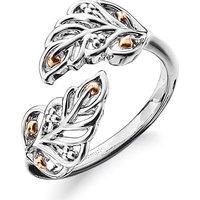 Clogau Debutante Feather Ring