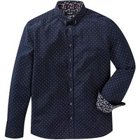 Black Label Long Sleeve Spotty Shirt Reg
