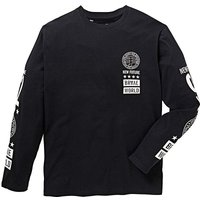 Label J Long Sleeve Print T-Shirt Long