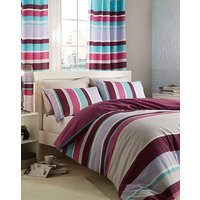 CL Textured Stripe Curtains