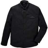 Black Label Pocket Square Shirt R